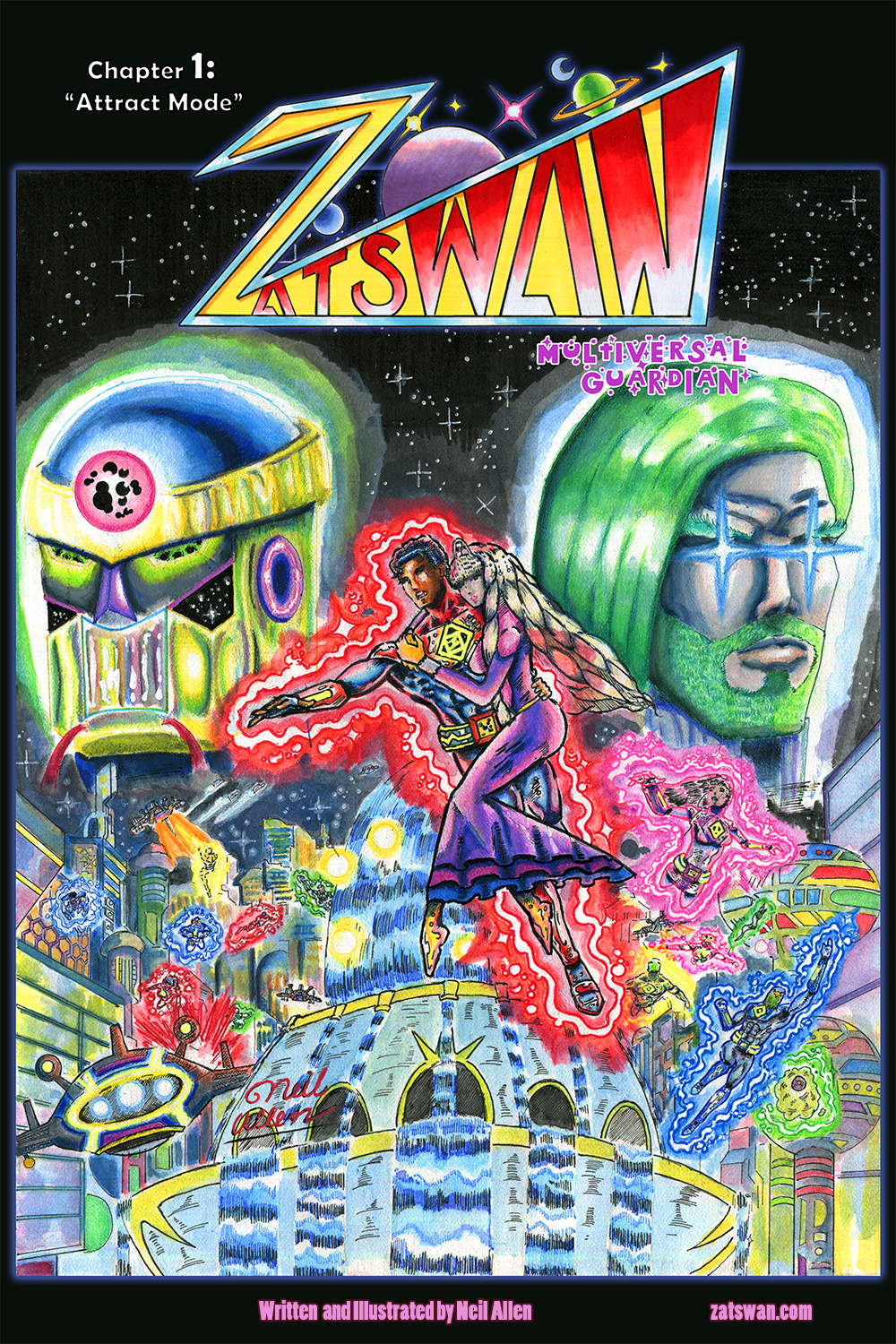 Zatswan: Multiversal Guardian Chapter 1 Cover