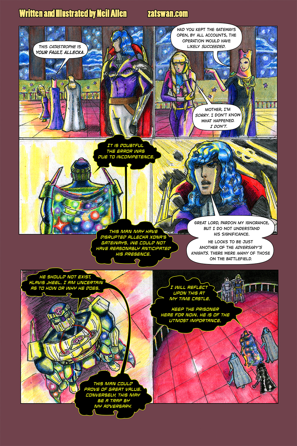 Zatswan: Multiversal Guardian, Chapter 3: Page 2