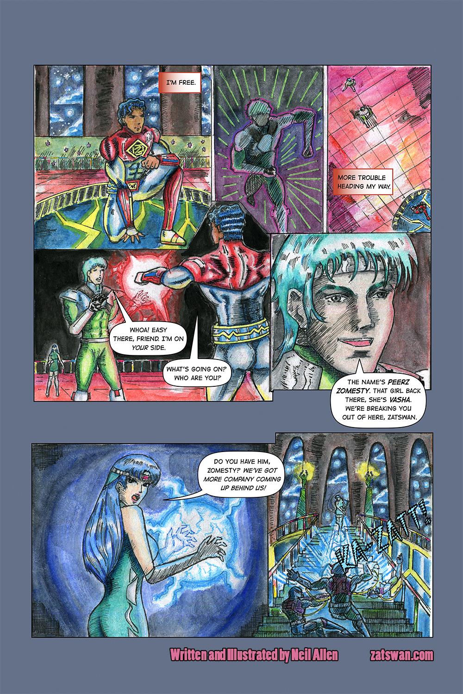 Zatswan: Multiversal Guardian, Chapter 3: Page 5