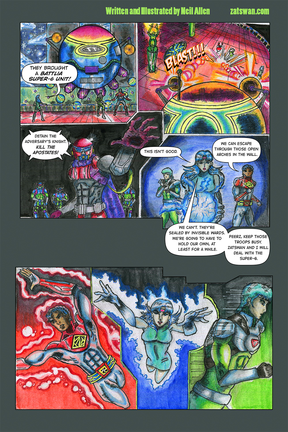 Zatswan: Multiversal Guardian, Chapter 3: Page 6