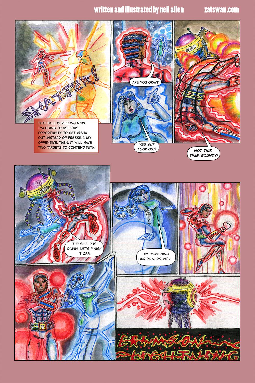 Zatswan: Multiversal Guardian, Chapter 3: Page 11