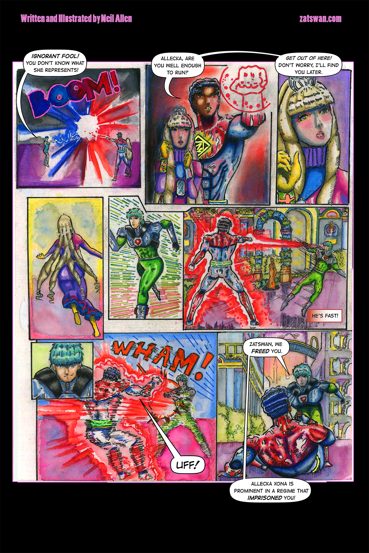Zatswan: Multiversal Guardian, Chapter 4: Page 7