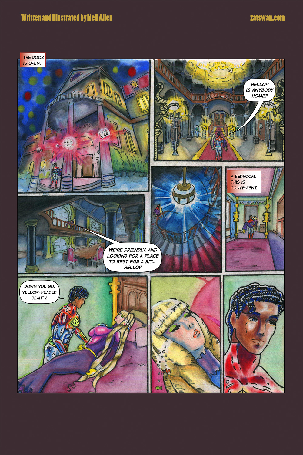Zatswan: Multiversal Guardian, Chapter 4: Page 15