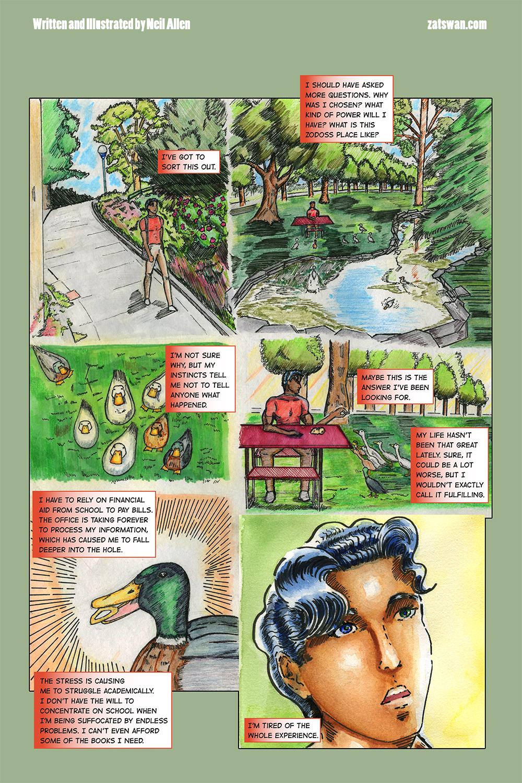 Zatswan: Multiversal Guardian, Chapter 1: Page 6