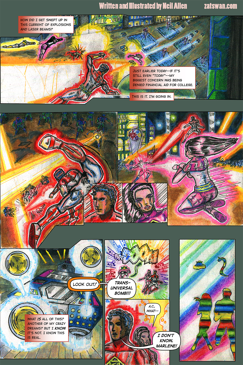 Zatswan: Multiversal Guardian, Chapter 2: Page 7