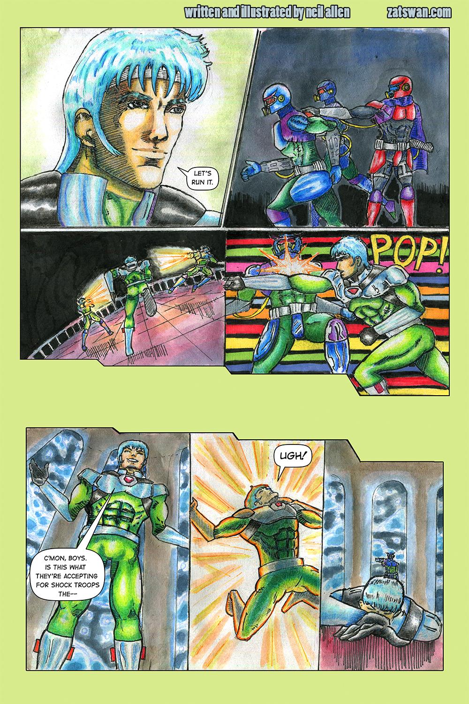 Zatswan: Multiversal Guardian, Chapter 3: Page 9