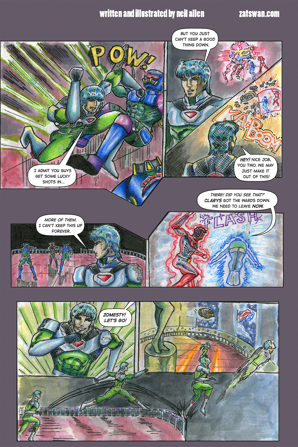 Zatswan: Multiversal Guardian, Chapter 3: Page 12