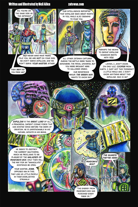Zatswan: Multiversal Guardian, Chapter 3: Page 17
