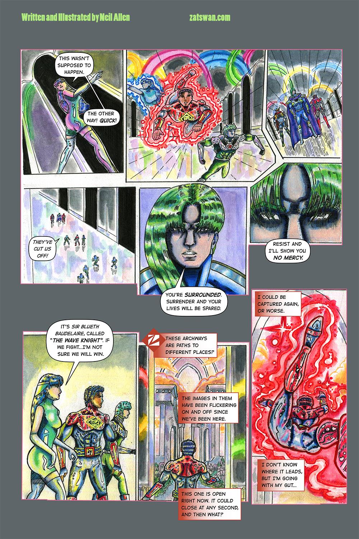 Zatswan: Multiversal Guardian, Chapter 3: Page 18