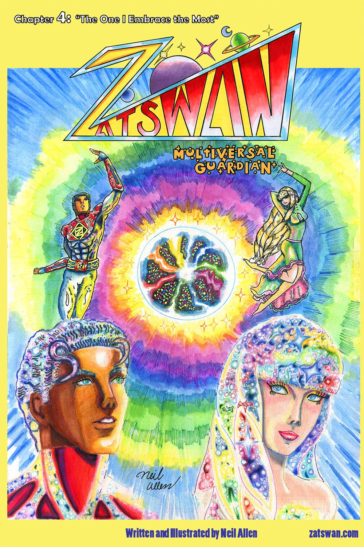 Zatswan: Multiversal Guardian, Chapter 4: Cover