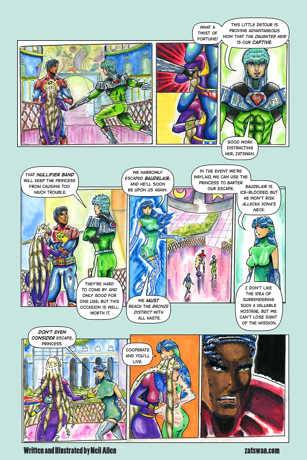 Zatswan: Multiversal Guardian, Chapter 4: Page 5