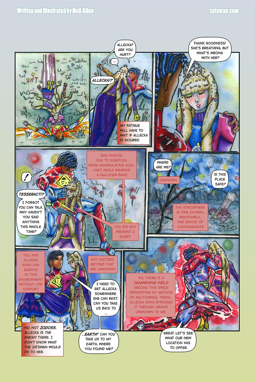 Zatswan: Multiversal Guardian, Chapter 4: Page 13