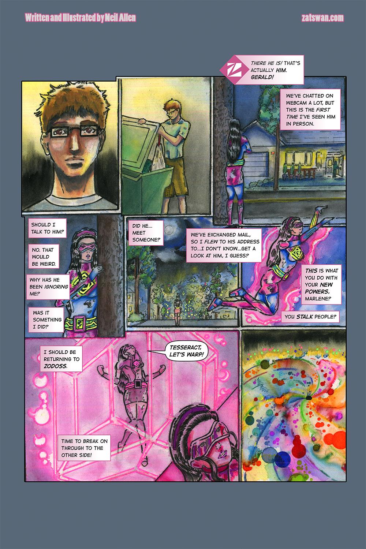 Zatswan: Multiversal Guardian, Chapter 4: Page 17