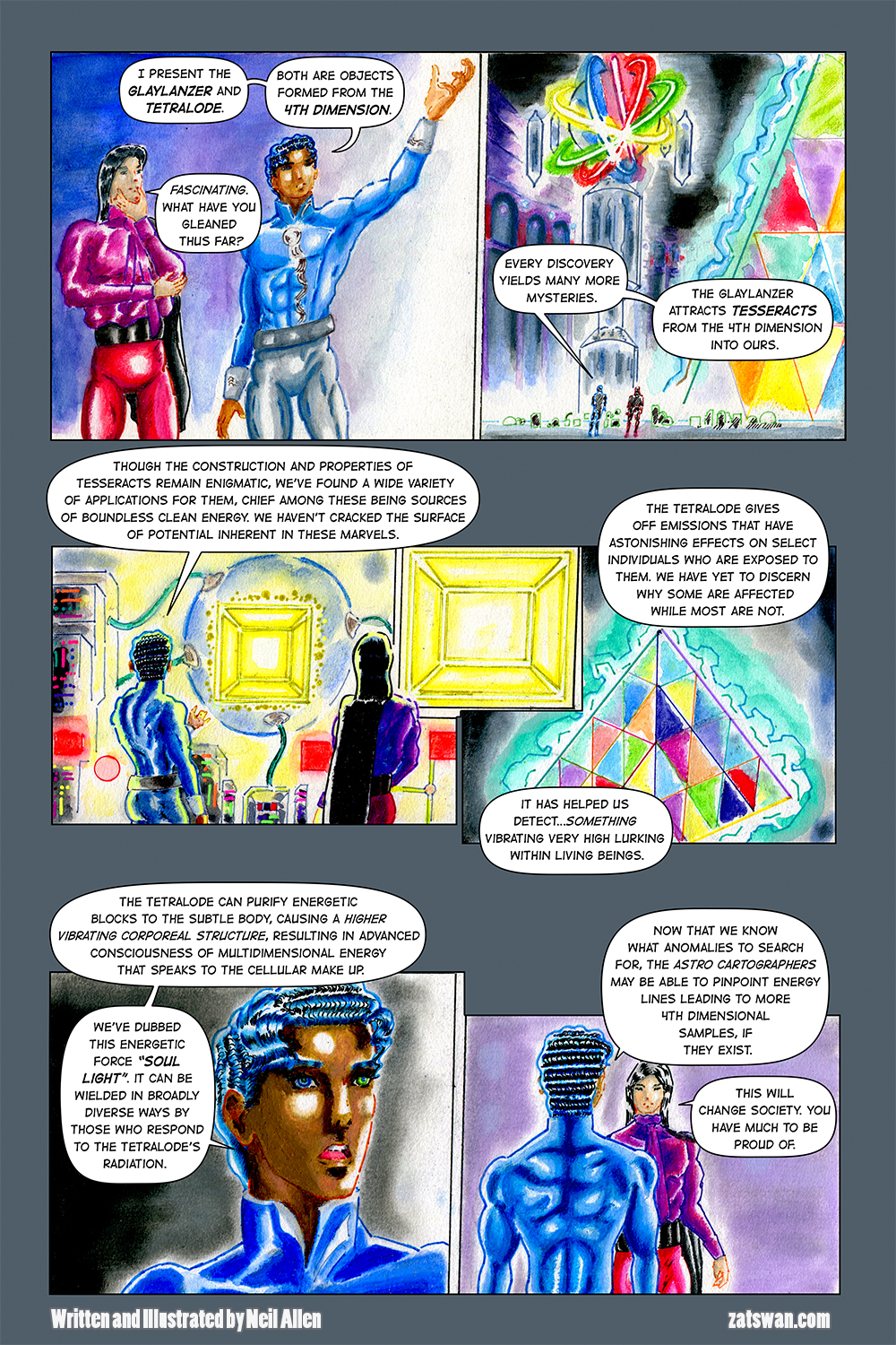 Zatswan: Multiversal Guardian, Chapter 5: Page 1